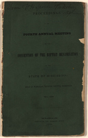 Proceedings of the Fourth Annual Meeting of the Convention of the Baptist Denomination of the State of Mississippi
