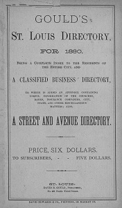 Gould's St. Louis Directory, for 1880