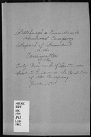 Report of Benj. H. Latrobe, president of the Pittsburgh & Connellsville R.R. Co. to the Committee of the City Councils...