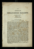 The American Sunday-School Magazine. April, 1829, Vol. VI -13. II A Voice from Ohio. II
