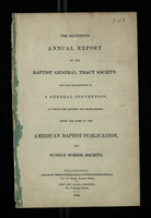 The Sixteenth Annual Report of the Baptist General Tract Society