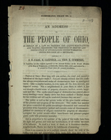Temperance Tract No. 1: An Address to the People of Ohio