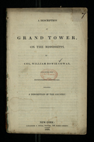 A Description of Grand Tower, on the Mississippi