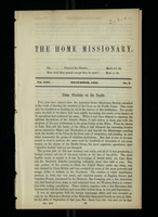 The Home Missionary, Vol. XXV. December, 1852. No. 8