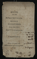 Minutes of the Muskingum Baptist Association, 1815