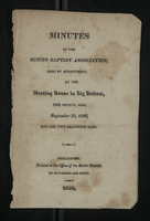 Minutes of the Scioto Baptist Association, 1820