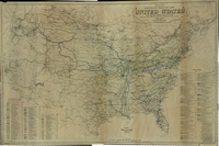 Edward Aberle's Railroad Map of the United States