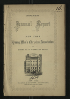 Fourth Annual Report of the New-York Young Men's Christian Association