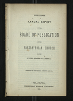 Fourteenth Annual Report of the Board of Publication of the Presbyterian Church
