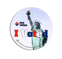 I Voted; NYC Votes