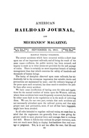 American Railroad Journal September 15, 1841