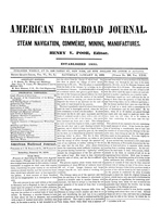 American Railroad Journal January 19, 1850