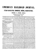 American Railroad Journal February 2, 1850