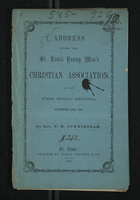 Address Before the St. Louis Young Men's Christian Association