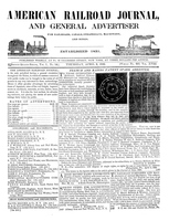 American Railroad Journal April 3, 1845