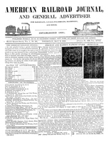 American Railroad Journal May 8, 1845