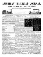 American Railroad Journal May 22, 1845