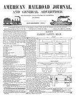 American Railroad Journal June 19, 1845