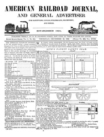 American Railroad Journal December 25, 1845