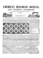 American Railroad Journal January 10, 1846