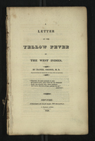 A Letter on the Yellow Fever of the West Indies