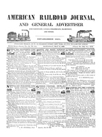 American Railroad Journal May 9, 1846