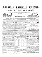 American Railroad Journal July 4, 1846