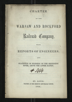 Charter of the Warsaw and Rockford Railroad Company