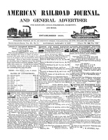 American Railroad Journal January 2, 1847
