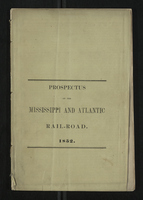 Prospectus of the Mississippi And Atlantic Rail-Road, From Terre Haute, Indiana to St. Louis, Missouri