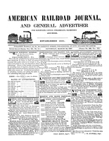 American Railroad Journal March 13, 1847