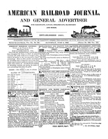 American Railroad Journal June 5, 1847