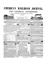 American Railroad Journal June 12, 1847