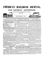 American Railroad Journal August 14, 1847