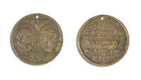 President and Mrs. Grover Cleveland Medal