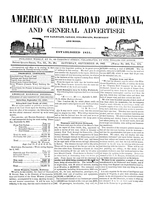 American Railroad Journal September 18, 1847