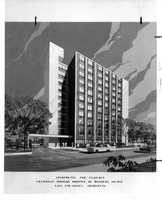 Apartments for Elderly at Michigan Ave and Chariton St. - Design. (obverse)