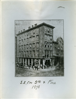 Broadway and Pine in 1878