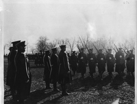 Sixth Infantry On Parade