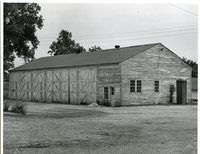 Jefferson Barracks - Garage, front