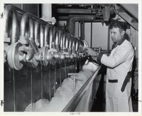 Lautering Process Being Done At Griesedieck Brothers Brewery Company