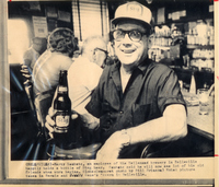 Marty Gaubatz, An Employee of the Stag Brewery (Also Known As The Carling Brewery Co.)