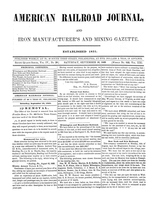 American Railroad Journal September 16, 1848