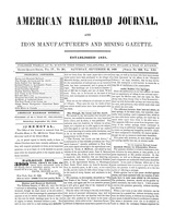 American Railroad Journal September 23, 1848
