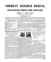 American Railroad Journal February 17, 1849