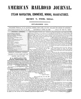 American Railroad Journal April 14, 1849