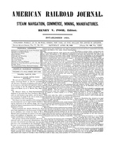 American Railroad Journal April 28, 1849