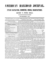 American Railroad Journal June 2, 1849