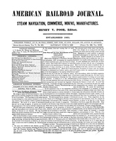 American Railroad Journal June 9, 1849
