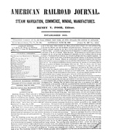 American Railroad Journal June 23, 1849